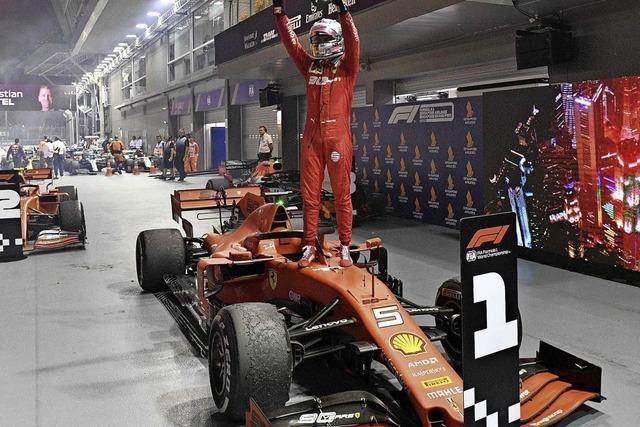 Erster Vettel-Sieg seit 392 Tagen