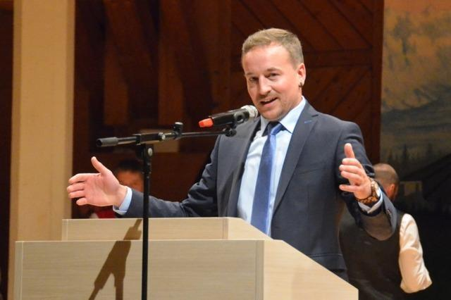 Sebastian Stiegeler wird neuer Bürgermeister von Höchenschwand