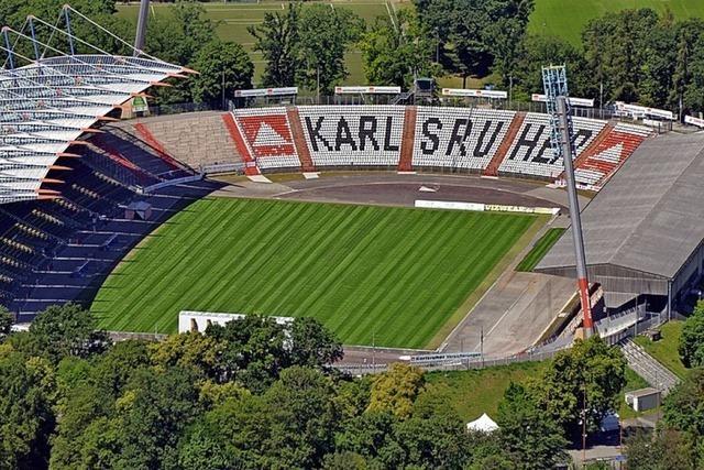 Bizarrer Streit ums neue KSC-Stadion