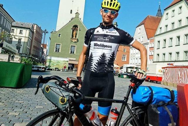 Wieso dieser Freiburger mit dem Fahrrad zu einer Konferenz nach Polen gefahren ist