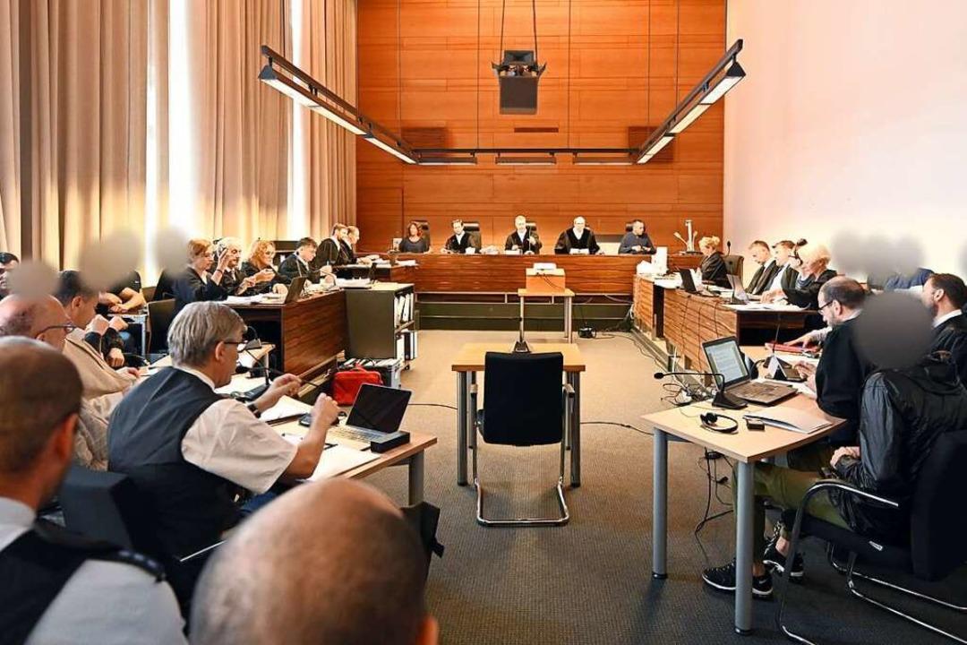 Elf Männer sind im Hans-Bunte-Fall ang...haft freigelassen werden (Archivbild).  | Foto: Patrick Seeger (dpa)
