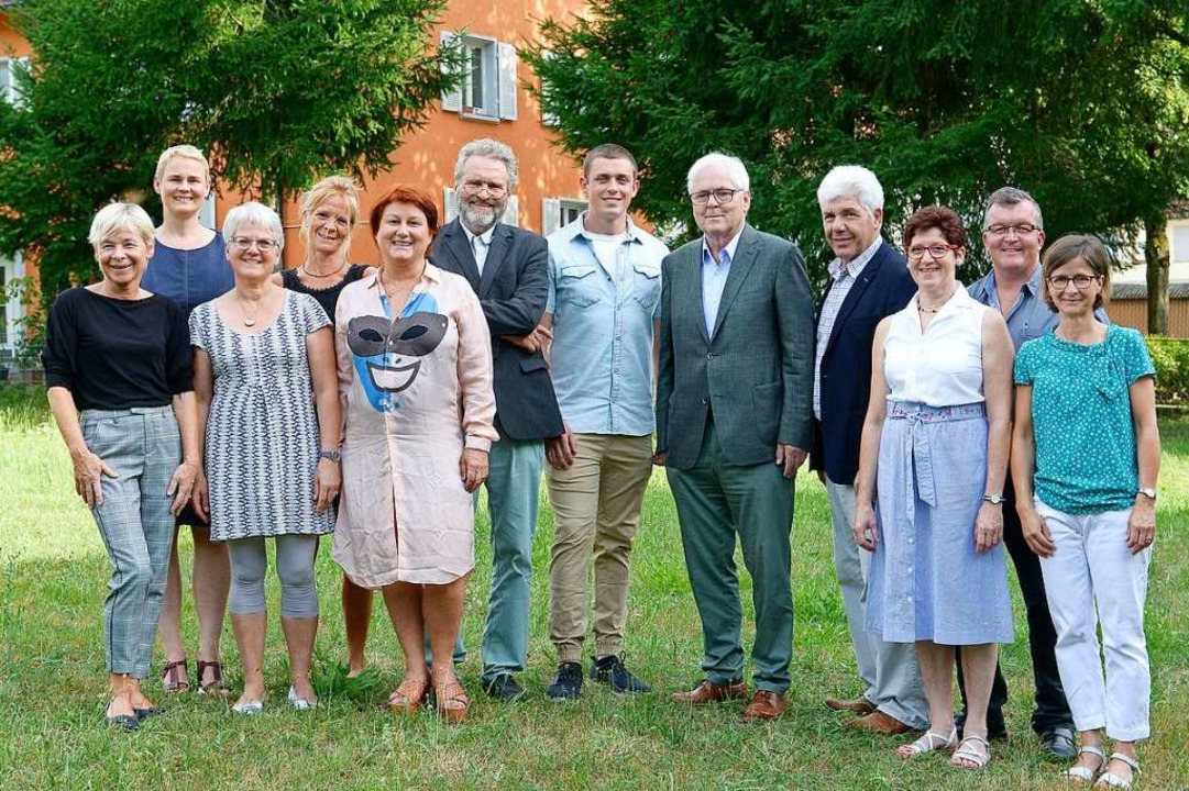 Der neue Ebneter Rat (von links): Beat...phanie Bornstein (Freie Wähler Ebnet).  | Foto: Ingo Schneider