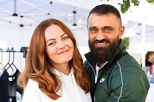Promi-Veganer und Box-Champion Ünsal Arik war beim Health Day in Landwasser