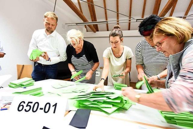 Vier Listen ziehen in den Munzinger Ortschaftsrat ein