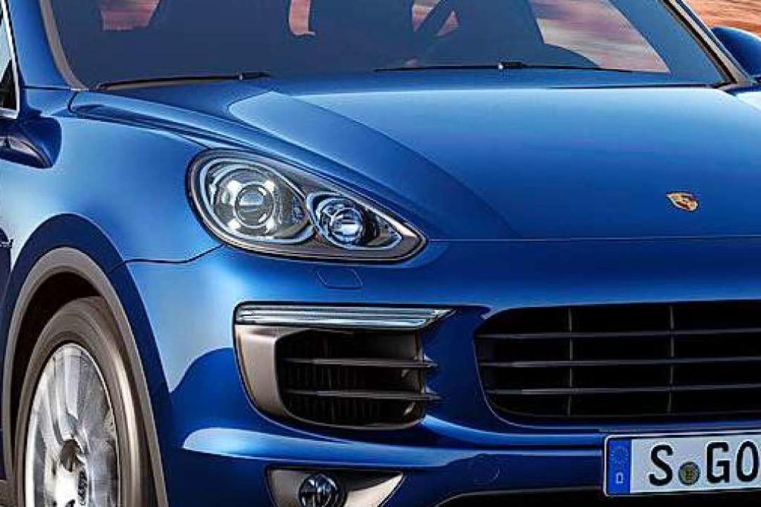 Am Europaplatz ist ein Porsche Cayenne...Die Polizei sucht Zeugen (Symbolbild).  | Foto: werk