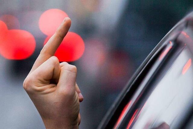 Grenzach-Wyhlen: Autofahrer geraten in Streit
