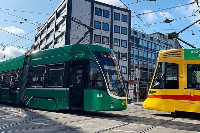 In Basel werden für 10 Tage 900 Trams täglich umgeleitet