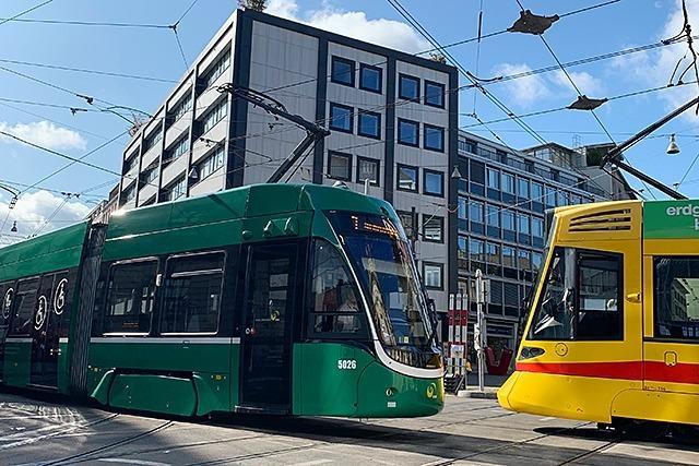 In Basel werden für 10 Tage fast alle Trams umgeleitet