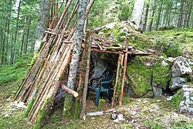 Abenteuer in der Waldhütte?