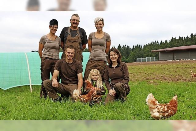 14 980 Hühner im Einsatz