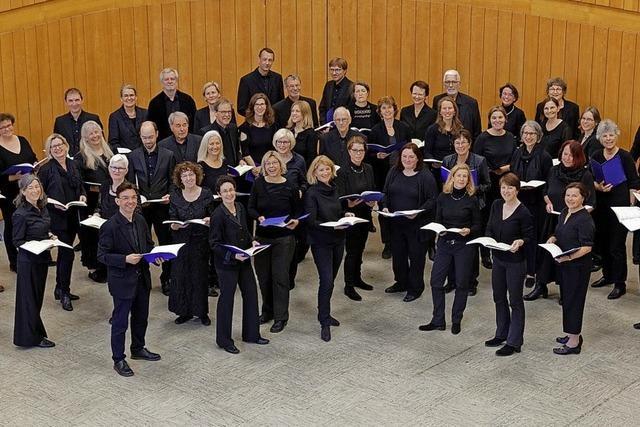 Konzert des Motettenchor Lörrach in Badenweiler