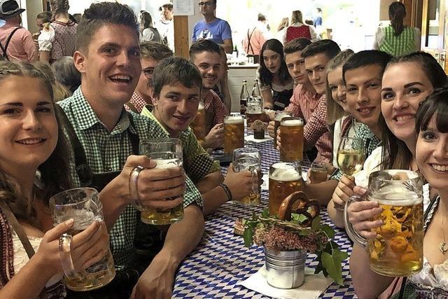 Maß-Bier und Weißwürste