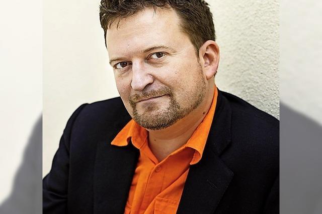 Erik Fosnes Hansen in der Buchhandlung Rombach