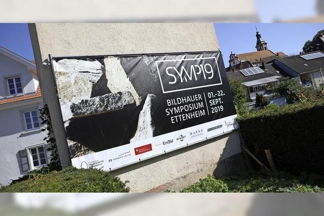 Abschluss des Bildhauersymposiums in Ettenheim