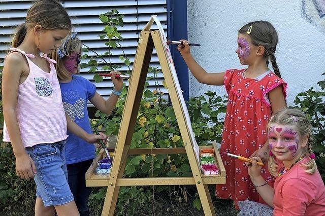 Treffpunkt Kinder feiert mit einer Party für Kinder