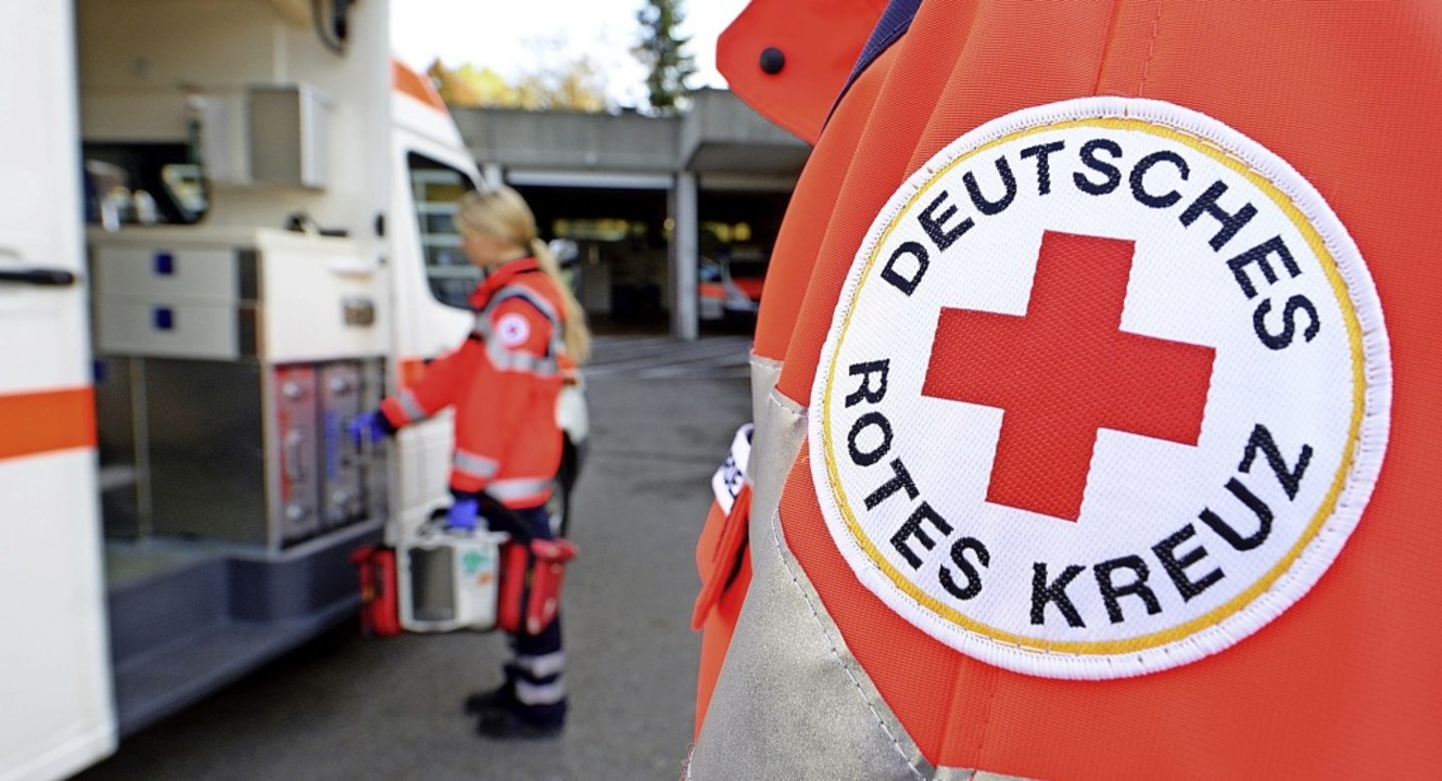 Der Lörracher DRK-Kreisverband sieht s...211; und ehrenamtlich gut aufgestellt.  | Foto: Bernd Weissbrod