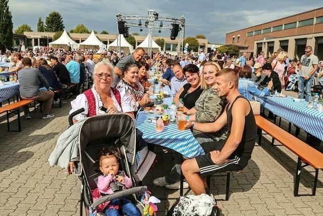 Rund 5000 Besucher bei Aldi-Jubiläumsfest in Orschweier