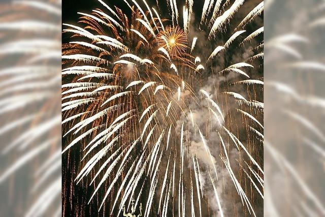 Mehrheit für das Feuerwerk