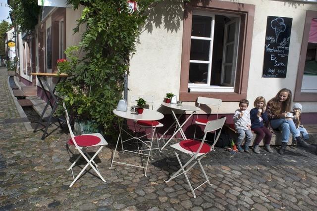 Das Caffè da Gianni in der Freiburger Altstadt ist ein guter Platz für eine kleine Pause