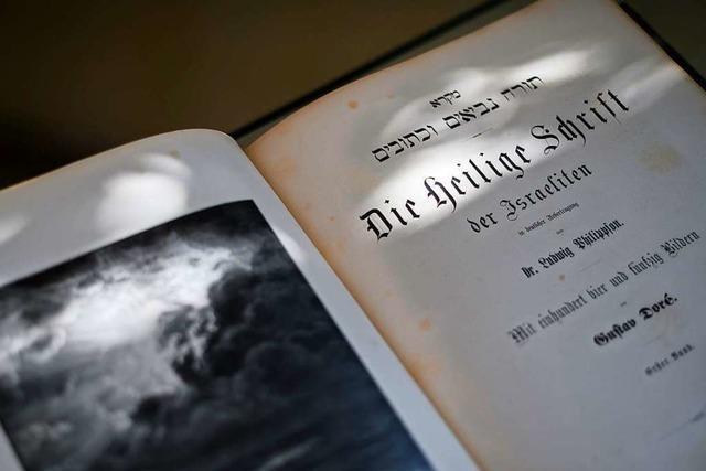 Jüdische Bibel war 80 Jahre im Versteck und auf Reisen