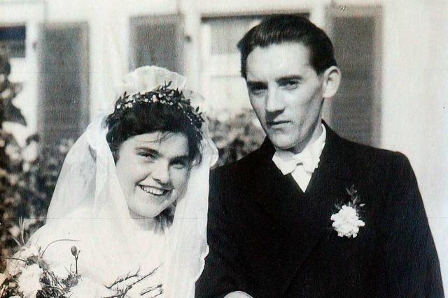 8 Enkel, 8 Urenkel und 70 Jahre verheiratet – dieses Ehepaar aus Freiburg feiert Gnadenhochzeit