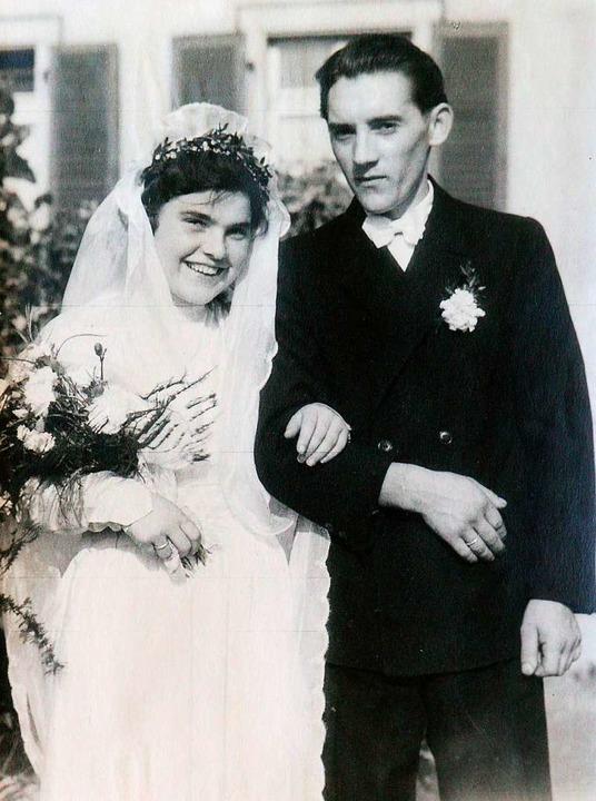 Bei der Hochzeit 1949  | Foto: Ingo Schneider