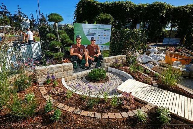 Mattenklott und Hummel vom Team Grün sind die besten Landschaftsgärtner