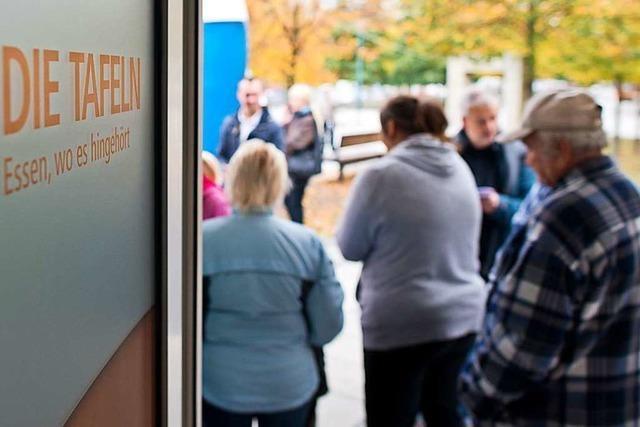 Immer mehr Rentner gehören zu den Tafel-Kunden in Rheinfelden