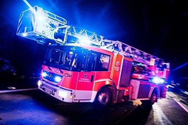 Auf Herd vergessener Topf löst Küchenbrand aus