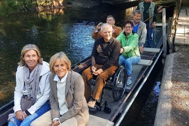 Bundestagspräsident genießt die Natur