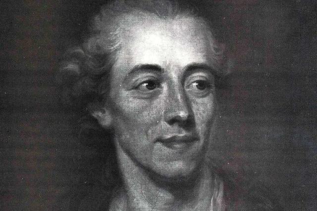 Johann Georg Jacobi war der erste protestantische Professor der Uni