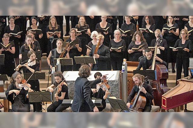 Der Freiburger Kammerchor konzertiert in Durbach und Freiburg