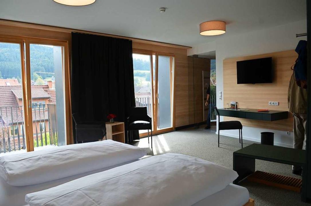 Doppelzimmer im dritten Obergeschoss  | Foto: Nikolaus Bayer