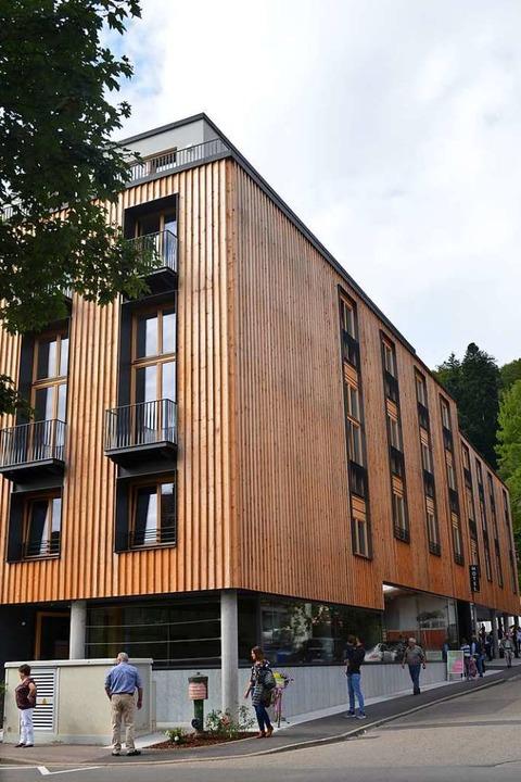 Das neue Hotel an der Neunlindenstraße  | Foto: Nikolaus Bayer