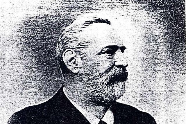 Gustav Hüetlin war ein hingebungsvoller Oberförster