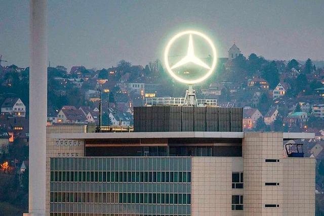 Daimler muss im Diesel-Skandal 870 Millionen Euro Bußgeld zahlen