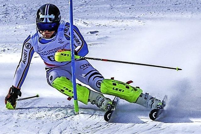 Vier Skiasse im Bezirk VII