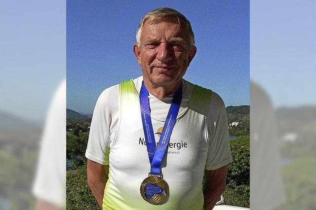 Mit 75 auf Medaillenjagd