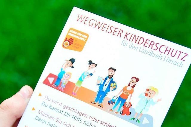 Der Landkreis Lörrach sieht sich beim Kinderschutz gut aufgestellt