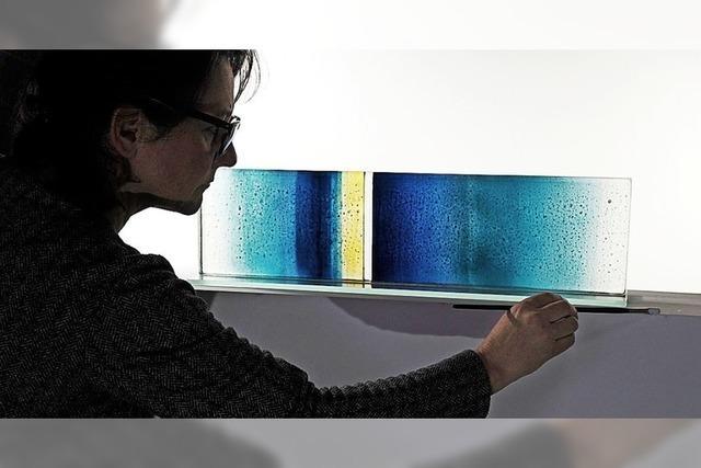 """Glaskunst und Fotografie unter dem Thema """"Aufbruch"""