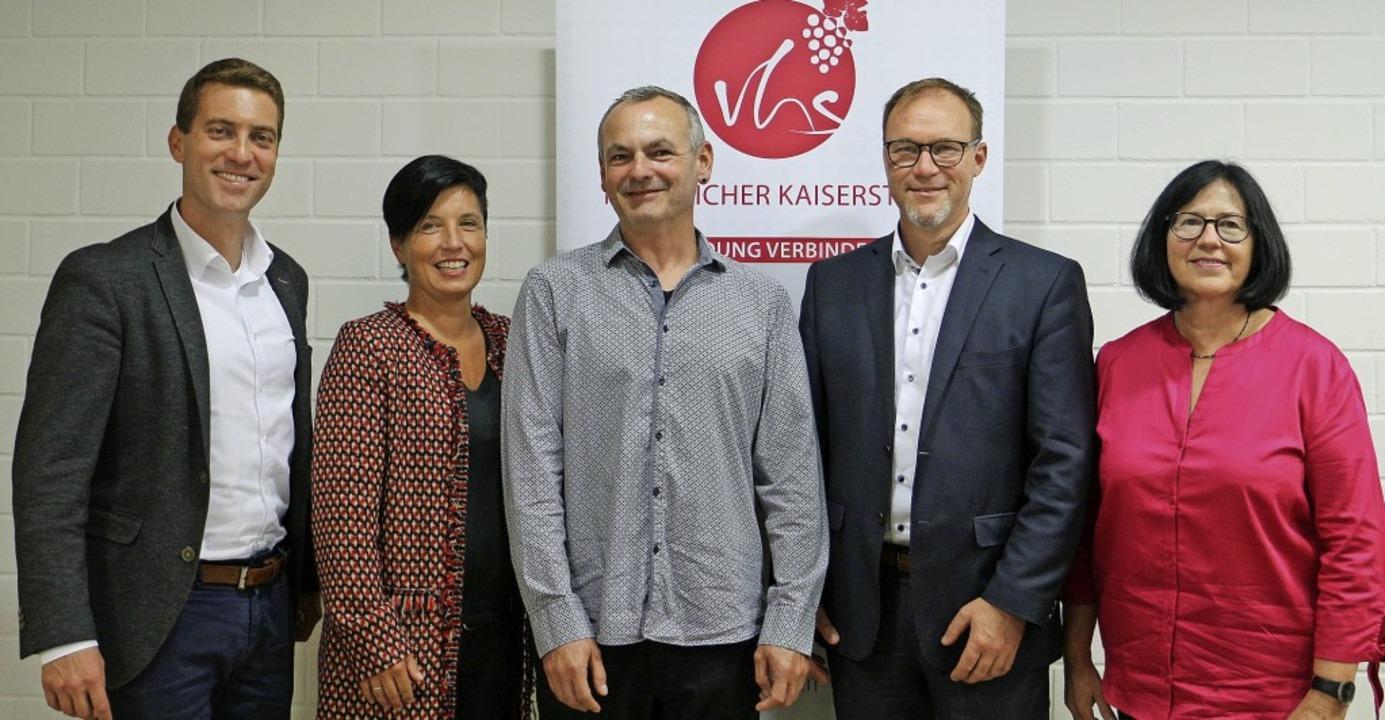 Neues Vorstandsteam der Volkshochschul...rerin Christiane Weinmann-Eichenbaum.   | Foto: Ruth Seitz