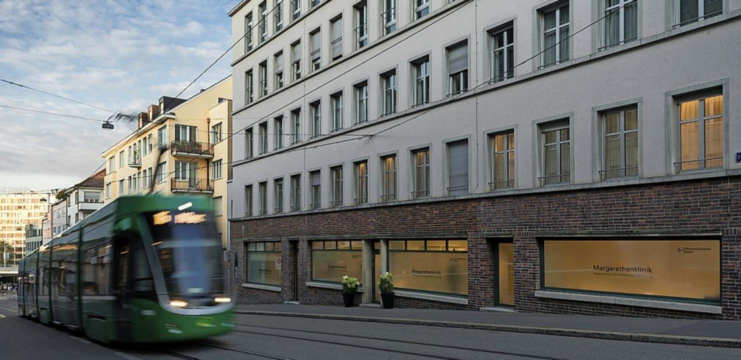 Die neue Klinik in der Nähe des Bahnhofs SBB   | Foto: USB