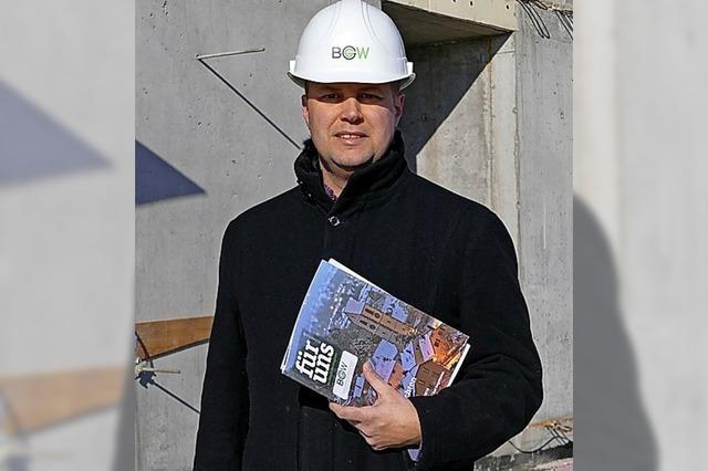 Baugenossenschaft feiert Richtfest