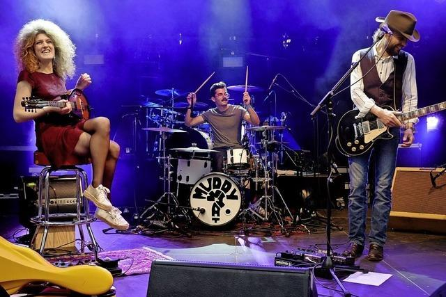 Blues-Trio Muddy What gibt Konzert im Café Verkehrt in Murg-Oberhof