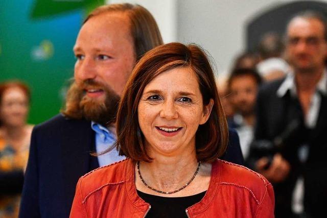 Göring-Eckardt und Hofreiter als Grünen-Fraktionschefs wiedergewählt