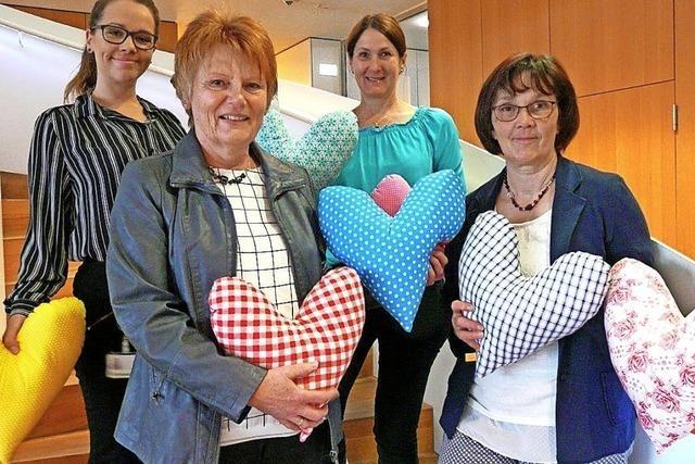 Ein Herz für Krebspatientinnen