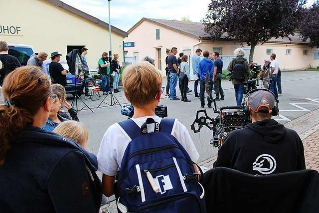 Für den Schwarzwald-Tatort bekam Eichstetten eine Polizeistation