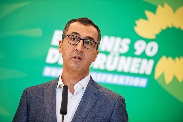 Özdemir verliert – keine Revolutionslaune in der Grünen-Fraktion