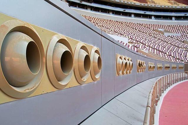 Für die Leichtathletik-WM wird ein ganzes Stadion klimatisiert – in der Wüste