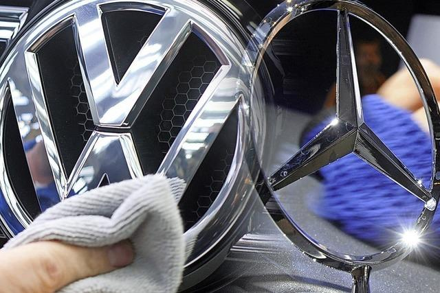 Bußgeld für Daimler, Anklage gegen VW